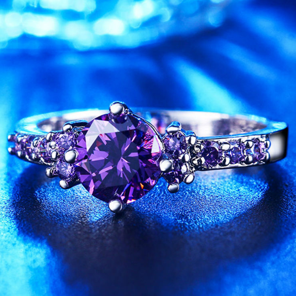Purple Amethyst Ring - Florence Scovel - 2