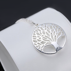 Silver Tree of Life Pendant - Florence Scovel - 1