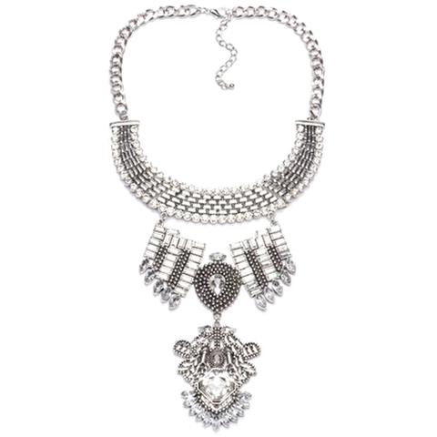 Manay Love Tribal Necklace - Florence Scovel