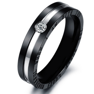 Black Titanium Ring - Florence Scovel