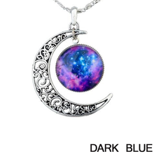 Starry Galaxy & Moon Necklace - Florence Scovel - 3