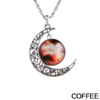 Starry Galaxy & Moon Necklace - Florence Scovel - 4