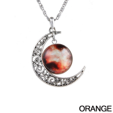 Starry Galaxy & Moon Necklace - Florence Scovel - 5