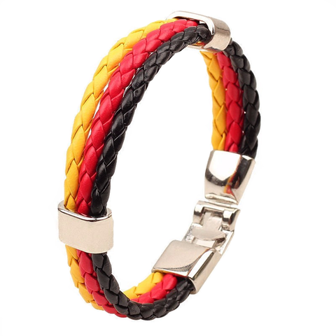 Team Germany Leather Unisex Bracelet - Florence Scovel