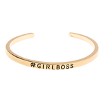 #GirlBoss Cuff Bangle