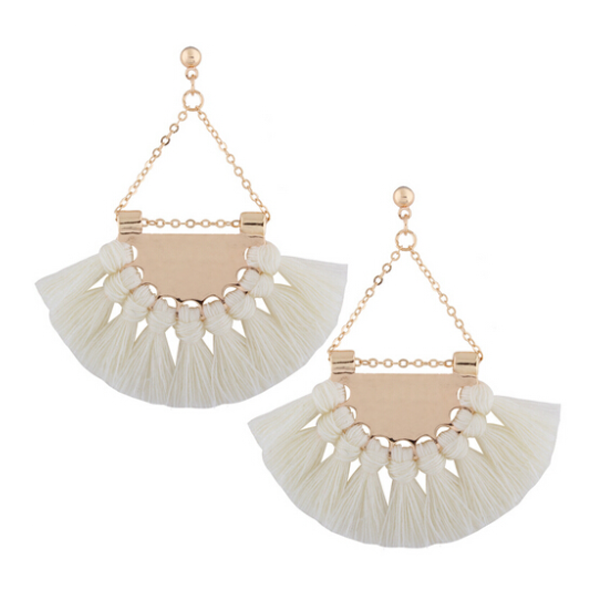 Girls Night Out Tassel Earrings