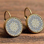 Bohemian Glass Earrings