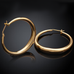 Solid Gold French Lock Hoops - Florence Scovel - 2