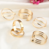 6pc Gold Stackable Ring Set - Florence Scovel - 2