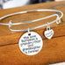 Grandmother and Granddaughter Forever Thankful Charm Bangle - Florence Scovel - 2
