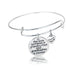Grandmother and Granddaughter Forever Thankful Charm Bangle - Florence Scovel - 1