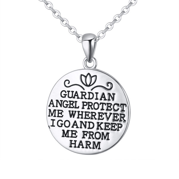 Guardian Angel Charm Pendant - Florence Scovel