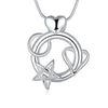 Heart and Star Combo Pendant Necklace - Florence Scovel - 2