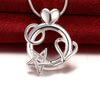Heart and Star Combo Pendant Necklace - Florence Scovel - 1