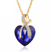 Gem Heart Ribbon Pendant - Florence Scovel - 3