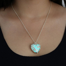 Glow In The Dark Heart Necklace - Florence Scovel - 3