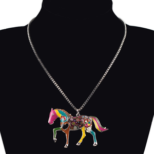 Horse Pendant Necklace - Florence Scovel - 2