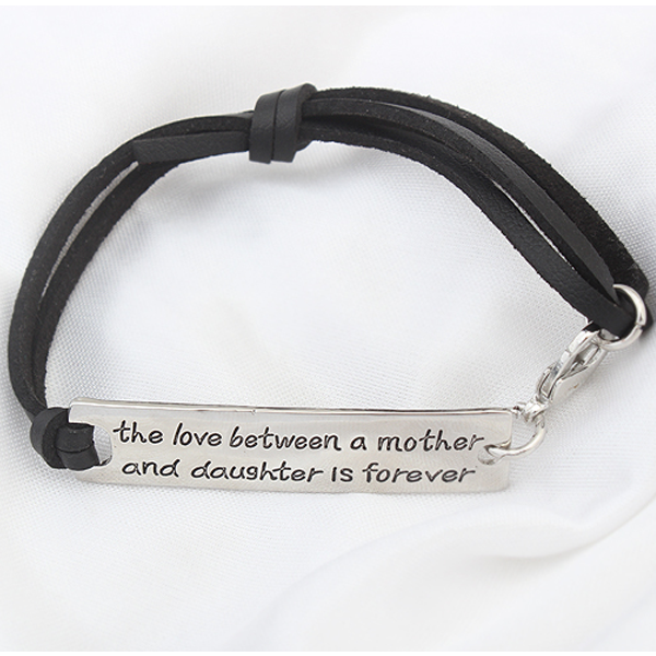 The Love Between a Mother and Daughter is Forever - Strap Bracelet - Florence Scovel - 2