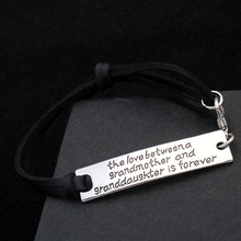 The Love Between a Grandmother and Granddaughter is Forever- Strap Bracelet - Florence Scovel - 3
