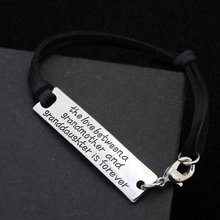 The Love Between a Grandmother and Granddaughter is Forever- Strap Bracelet - Florence Scovel - 6