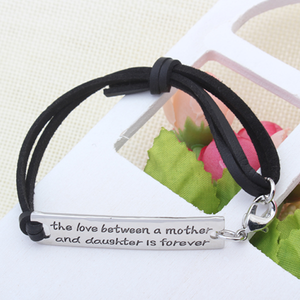 The Love Between a Mother and Daughter is Forever - Strap Bracelet - Florence Scovel - 3