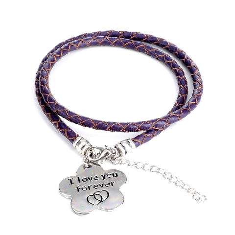 I Love You Forever - Hand Stamped Bracelet - Florence Scovel