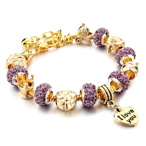I Love You Charm Bracelet - Florence Scovel - 2