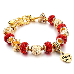 I Love You Charm Bracelet - Florence Scovel - 3