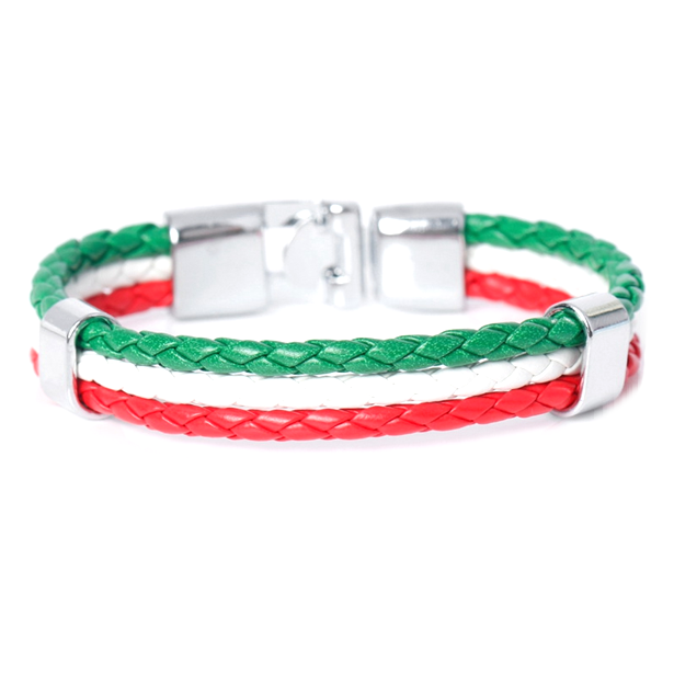 Team Italy Leather Unisex Bracelet - Florence Scovel