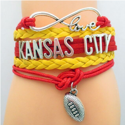 Kansas City Chiefs Bracelet - Florence Scovel