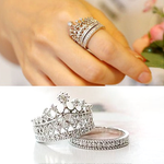 Imperial Crown Ring Set - Florence Scovel - 1