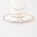 Love Laugh Live Engraved Bangle - Florence Scovel - 2