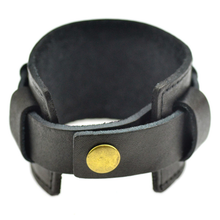 Leather Wide Cuff Bracelet - Florence Scovel - 4