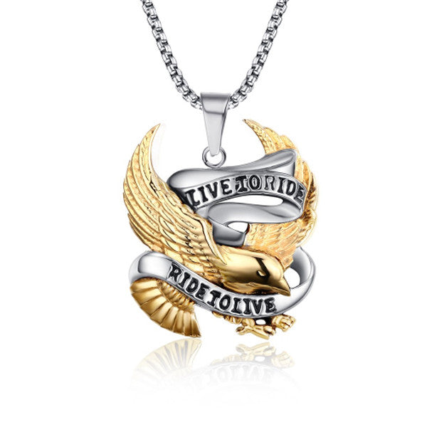 Live to Ride Pendant - Florence Scovel - 1