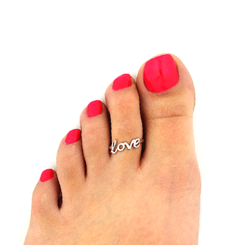 Love Letter Fashion Toe Ring - Florence Scovel - 1