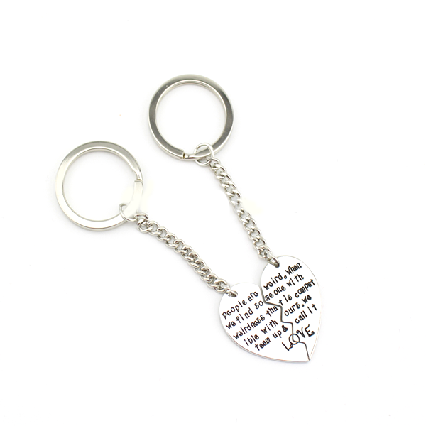 Soul-Mate Silver Keychain - Florence Scovel - 2