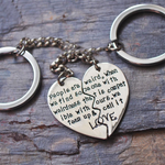 Soul-Mate Silver Keychain - Florence Scovel - 1