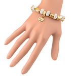 I Love You Charm Bracelet - Florence Scovel - 4