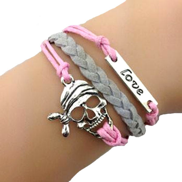 Walk the Plank Love Pirate Bracelet
