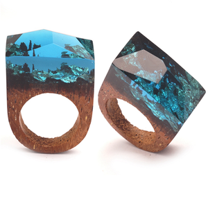 Magic Forest Wood Ring - Florence Scovel - 1