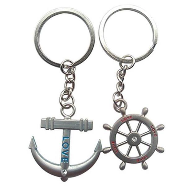 Couple's Nautical Keychains - Florence Scovel - 1