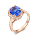 Florence Emerald Rose Gold Ring - Florence Scovel - 4