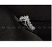 Platinum Plated Heart Curve Ring - Florence Scovel - 3