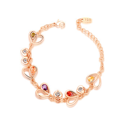 Luxury Heart Bracelet - Florence Scovel