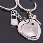 Couple's Key and Lock Keychain - Florence Scovel - 1