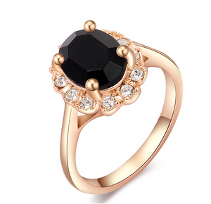 Florence Emerald Rose Gold Ring - Florence Scovel - 2