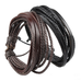 Rustic Leather Wrap Bracelet - Florence Scovel - 1