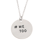 #MeToo Pendant Necklace