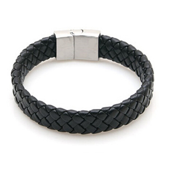 Men's Braided Leather Bracelet - Florence Scovel - 1