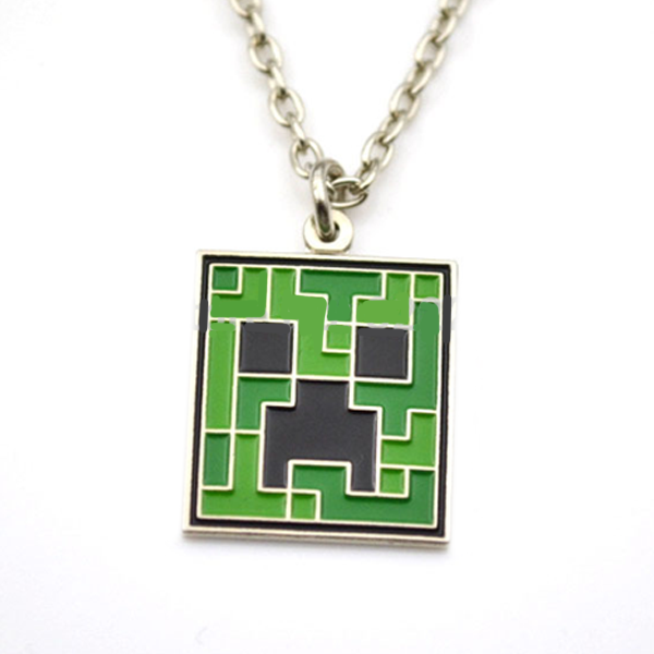 Minecraft Inspired Creeper Pendant - Florence Scovel